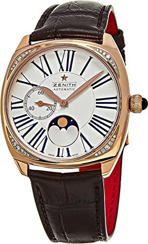 51BgWH322LL. AC  - Zenith Heritage Star Moonphase Ladies 18kt Rose Gold - 22.1925.692/01.C725
