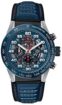 51JAQLIZmBL. AC  - TAG Heuer Carrera Red Bull Racing Special Edition 45mm Mens Watch CAR2A1N.FT6100
