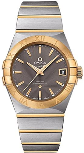 51jdS5bZ mL. AC  - Omega Men's Constellation Swiss-Automatic Watch with Two-Tone-Stainless-Steel Strap, 19 (Model: 12320382106001)