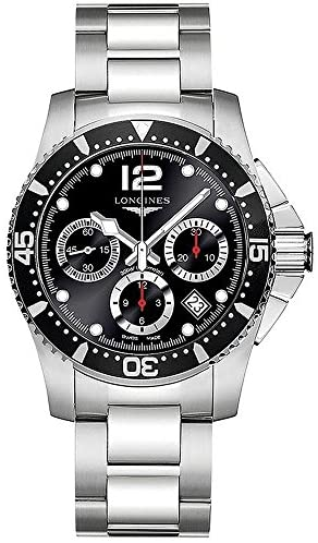 51oM0JK0WUL. AC  - Longines HydroConquest Stainless Steel Automatic Mens Watch L37444566