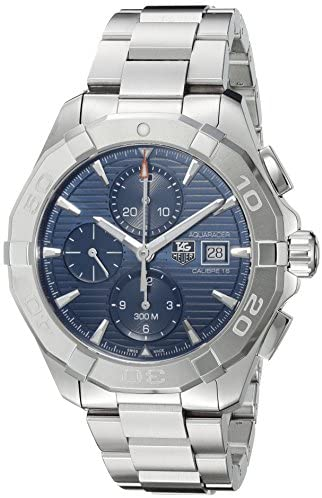 51z7YgSNWiL. AC  - TAG Heuer Men's 'Aquaracer' Swiss Automatic Stainless Steel Dress Watch, Color:Silver-Toned (Model: CAY2112.BA0927)