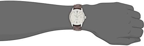 21PHhOwgNlL. AC  - TAG Heuer Men's WAR211B.FC6181 Carrera Stainless Steel Automatic Watch with Brown Leather Band