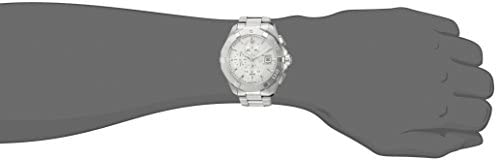21UM3IHCe5L. AC  - TAG Heuer Men's 'Aquaracer' Swiss Automatic Stainless Steel Dress Watch, Color:Silver-Toned (Model: CAY2111.BA0927)