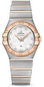 31A uO1NT6L. AC  - Omega Constellation Silver Dial Ladies Watch 123.20.27.60.52.002