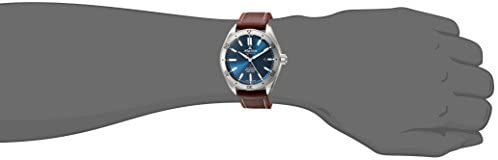 31BWc5cFSuL. AC  - Alpina Men's Alpiner 4 Stainless Steel Automatic-self-Wind Watch with Leather Strap, Brown, 22 (Model: AL-525NS5AQ6)
