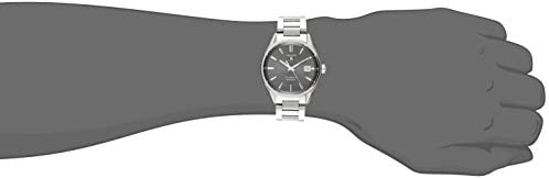 31Oy47A7A3L. AC  - TAG Heuer Men's WAR211C.BA0782 Carrera Analog Display Swiss Automatic Silver Watch