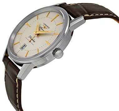 31dxslZmBRL. AC  - Longines Flagship Heritage Automatic Stainless Steel Mens Luxury Strap Watch Calendar L4.795.4.78.2