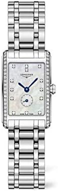 31pJW1edSDL. AC  - Longines Dolce Vita White Mother of Pearl Dial Ladies Watch L52550876