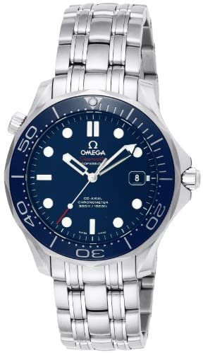 41+ynbi9kHL. AC  - Omega Men's 212.30.41.20.03.001 Seamaster Diver 300m Co-Axial Automatic Swiss Automatic Silver-Tone Watch
