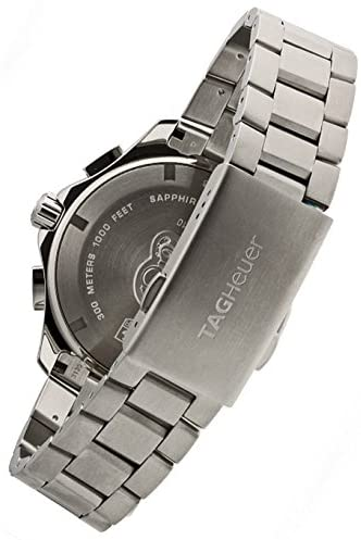 41 Wvq 57RL. AC  - TAG Heuer Men's CAN1010BA0821 Aquaracer Stainless Steel Chronograph Watch