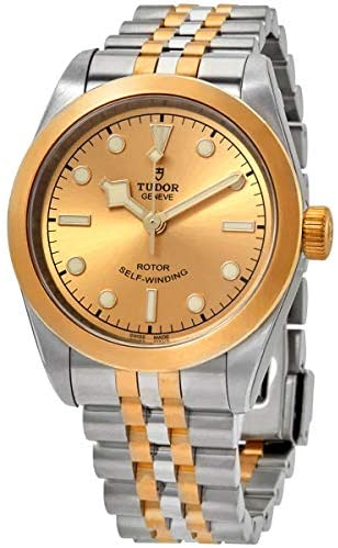 411NB471dgL. AC  - Tudor Black Bay 32 Automatic Champagne Dial Two-Tone Yellow Gold Ladies Watch M79583-0002