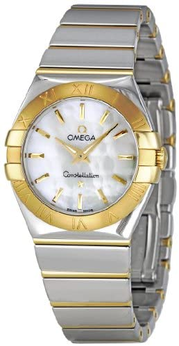 41ALa5TjK1L. AC  - Omega Women's 123.20.27.60.05.004 Constellation Mother-Of-Pearl Dial Watch