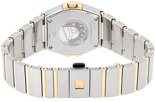 41FK6MsNyqL. AC  - Omega Constellation Diamond Mother of Pearl Dial Rose Gold and Steel Ladies Watch 12325276055001