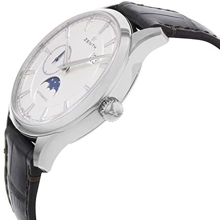 41NwGIUpBgL. AC  - Zenith Captain Moonphase Silver Dial Automatic Mens Watch 03214369101C498