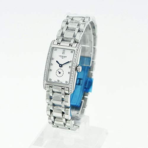 41YC3GIeYlL. AC  - Longines Dolce Vita White Mother of Pearl Dial Ladies Watch L52550876