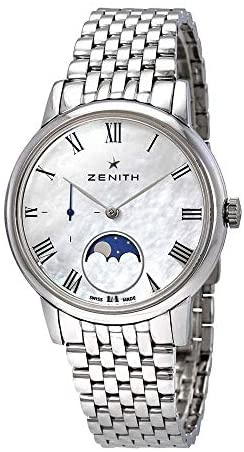 41cgTUYVf L. AC  - Zenith Elite Automatic Mother of Pearl Dial Ladies Watch 03.2320.692/81.M2320