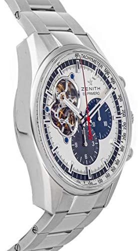 41dxMhCTMnL. AC  - Zenith Chronomaster Mechanical (Automatic) Silver Dial Mens Watch 03.2040.4061/69.M2040 (Certified Pre-Owned)