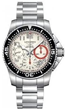 41e9F0EXVjL. AC  - Longines HydroConquest Automatic Column Wheel Chronograph Rotating Bezel Mens Watch