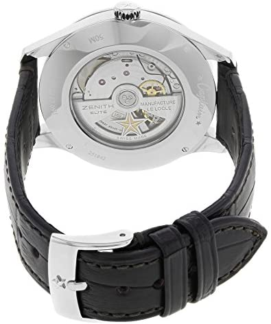 512yvRR3o7L. AC  - Zenith Captain Moonphase Silver Dial Automatic Mens Watch 03214369101C498