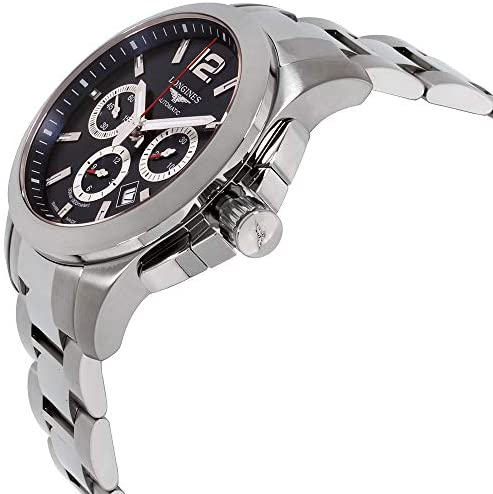 518RsryF58L. AC  - Longines Conquest Chronograph Blue Dial Stainless Steel Men's Watch L38014966