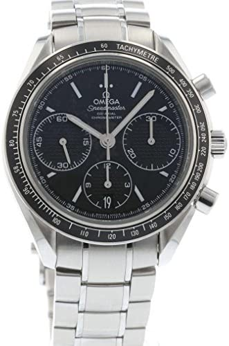 51DUuzk6kXL. AC  - Omega Speedmaster Racing Automatic Chronograph Black Dial Stainless Steel Mens Watch 326.30.40.50.01.001