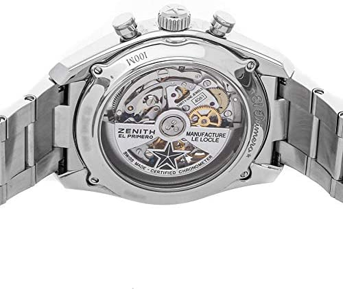 51EIayyw21L. AC  - Zenith Chronomaster Mechanical (Automatic) Silver Dial Mens Watch 03.2040.4061/69.M2040 (Certified Pre-Owned)