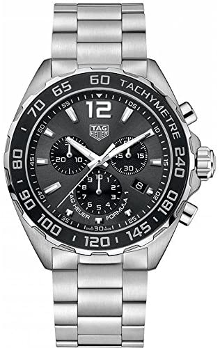 51fVsyJoaUL. AC  - Tag Heuer Formula 1 Chronograph Anthracite Dial Mens Watch CAZ1011.BA0842