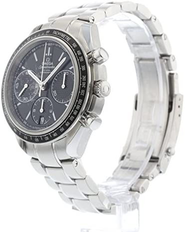 51gSrQ3o6NL. AC  - Omega Speedmaster Racing Automatic Chronograph Black Dial Stainless Steel Mens Watch 326.30.40.50.01.001