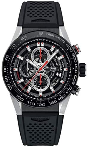 51m+PhUk+0L. AC  - Tag Heuer Carrera Calibre Heuer 01 Automatic Skeleton Dial Mens Watch CAR2A1Z.FT6044