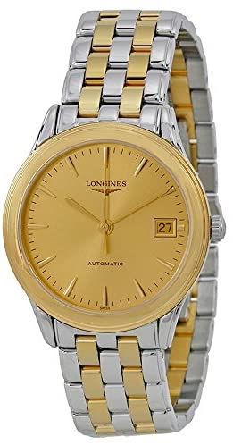 51oSgwMjs4L. AC  - New Longines Flagship in Steel and 18 K Gold Men's Watch