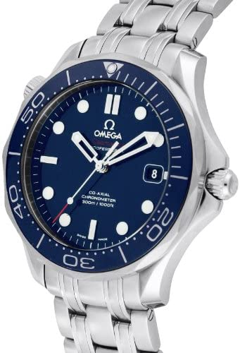51x8xLiOn4L. AC  - Omega Men's 212.30.41.20.03.001 Seamaster Diver 300m Co-Axial Automatic Swiss Automatic Silver-Tone Watch