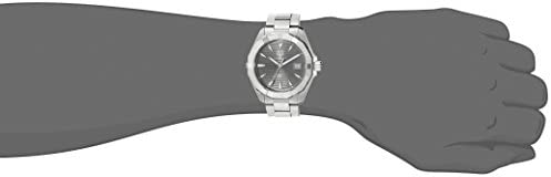 21wRaIxX6YL. AC  - TAG Heuer Men's Aquaracracer Swiss-Automatic Watch with Stainless-Steel Strap, Silver, 20 (Model: WAY2113.BA0928)