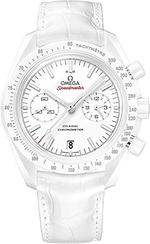413IJ LTP2L. AC  - Omega Speedmaster Moonwatch White Side of The Moon - 311.93.44.51.04.002