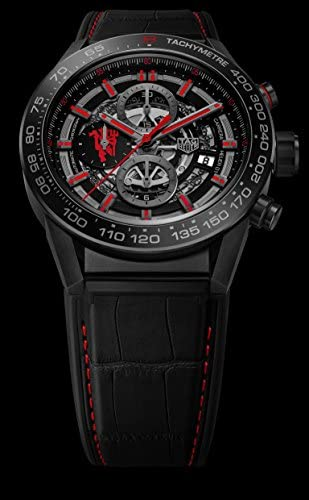 41Zp7rC6ToL. AC  - TAG HEUER CARRERA Calibre HEUER 01 Automatic Chronograph Limited Edition Red Devil Manchester United CAR2A1J.FC6400