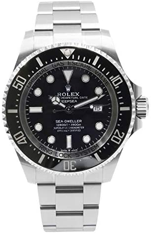 41j2mPusE4L. AC  - Rolex Deepsea Black Dial Automatic Men's Stainless Steel Oyster Watch 126660BKSO