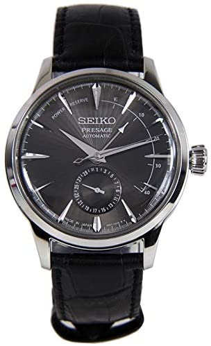 41uy+3TXIQL. AC  - Seiko Mens Analogue Automatic Watch with Leather Strap SSA345J1