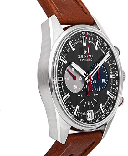 512jF2VyQSL. AC  - Zenith Chronomaster Mechanical (Automatic) Gray Anthracite Dial Mens Watch 03.2046.400/25.C771 (Certified Pre-Owned)