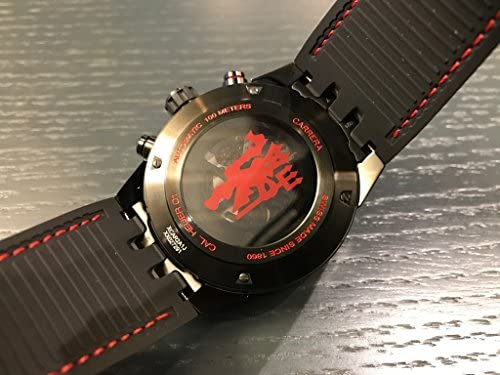 51ChdjObfuL. AC  - TAG HEUER CARRERA Calibre HEUER 01 Automatic Chronograph Limited Edition Red Devil Manchester United CAR2A1J.FC6400