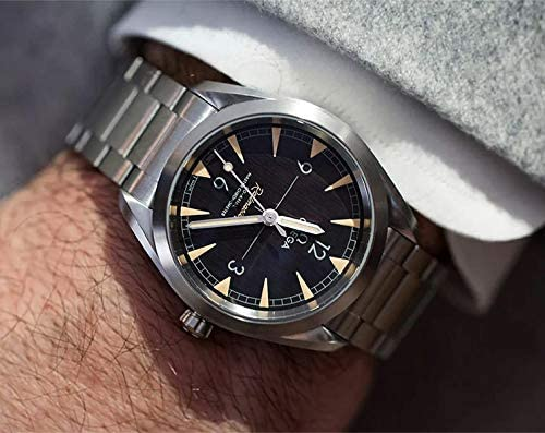 51E93I7BTcL. AC  - Omega Seamaster Railmaster Automatic Mens Stainless Steel Watch 220.10.40.20.01.001