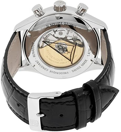 51IKBgx970L. AC  - Frederique Constant Runabout Automatic Movement Black Dial Men's Watch FC-392MDG5B6