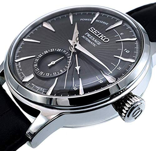 51Y8ShruelL. AC  - Seiko Mens Analogue Automatic Watch with Leather Strap SSA345J1