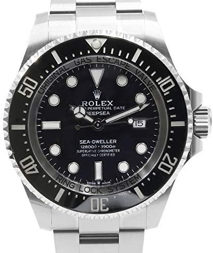 51e3 +xXIrL. AC  - Rolex Deepsea Black Dial Automatic Men's Stainless Steel Oyster Watch 126660BKSO