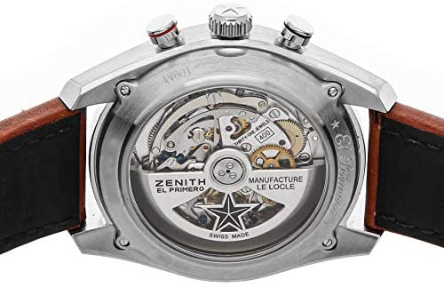 51lKyKjzNbL. AC  - Zenith Chronomaster Mechanical (Automatic) Gray Anthracite Dial Mens Watch 03.2046.400/25.C771 (Certified Pre-Owned)