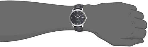 217Wv4yoXPL. AC  - Omega Men's 42413402001001 Stainlesss Steel Watch with Black Leather Band