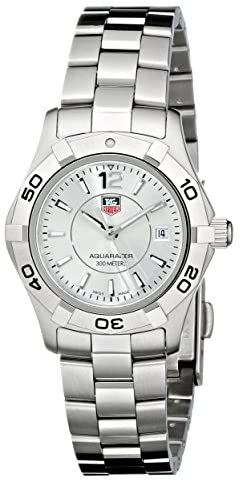 """414JfCo iOL. AC  - TAG Heuer Women's WAF1412.BA0823 """"Aquaracer"""" Stainless Steel Dive Watch"""
