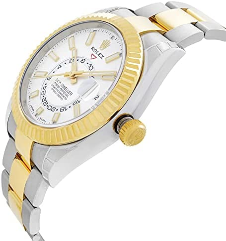 414QsoLvSBS. AC  - Rolex Oyster Perpetual Sky-Dweller Automatic Men's Two-Tone Watch 326933WSO