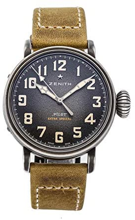 41HzwYCl1oL. AC  - Zenith Pilot Mechanical(Automatic) Grey Dial Watch 11.1940.679/91.C807 (Pre-Owned)
