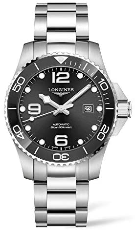 41Of7PQ2oRL. AC  - Longines HYDROCONQUEST Ceramic 43MM Automatic Diving Watch L37824566