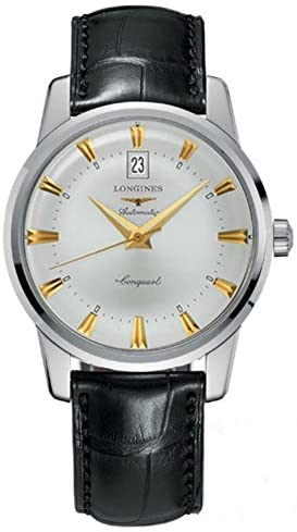 41Vg4evDLqL. AC  - Longines Heritage Collection Conquest Mens Watch L1.645.4.75.4
