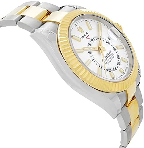 41gqghS9WmS. AC  - Rolex Oyster Perpetual Sky-Dweller Automatic Men's Two-Tone Watch 326933WSO